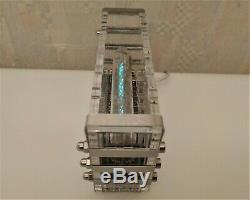 S A L E! Adafruit Ice tube clock IV-18 VFD nixie tube clock steampunk desk