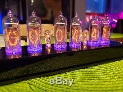 Steampunk Nixie Clock Assembled NOS IN-14 Tubes! Vintage