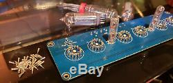Steampunk Nixie Clock With Sockets & Extra Tubes Assembled NOS IN-14 Tubes