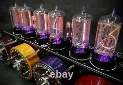 The Covert Bombe Nixie Tube Clock from Bad Dog Designs Codebreaking in Secret