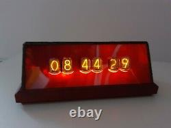 Trivol Reg Glass NIXIE Clock with IN12 tubes Monjibox