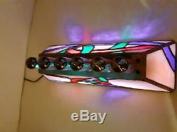 Unity vibrant handmade desk alarm clock WiFi NTP IV11 VFD tubes Monjibox Nixie