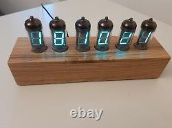 VFD Alarm Clock IV11 VFD tubes by Monjibox Nixie color Natur1