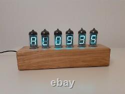 VFD Alarm Clock IV11 VFD tubes by Monjibox Nixie color Natur2