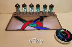 VFD alarm clock with WiFi NTP IV11 VFD tubes Monjibox Nixie