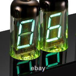 Vintage 6x IV-11 Nixie Tube Clock USB Digital VFD Desk Clock Assembled with Case