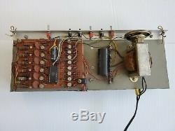 Vintage Homebrew 6pcs B-7971 Burroughs display Nixie tube Clock with Sockets