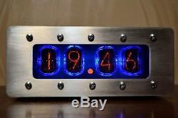 Vintage Nixie Tube CLOCK IN-12 Retro Clock VIDEO INSIDE