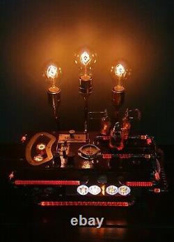 Vintage nixie tube clock