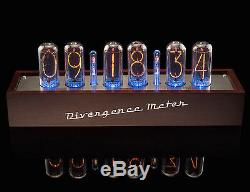 Wooden Case for Nixie Clock Divergence Meter Tubes IN-18 or Z5660, ZM1040/42