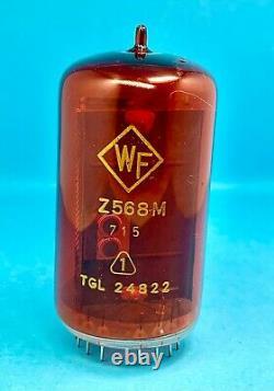 Z568M WF RFT NIXIE NUMERIC INDICATOR TUBES FOR CLOCK, USED, Lot 1 pcs