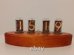 ZM1042 Z566M Z5660M ZM1040 Nixie tubes clock wooden case